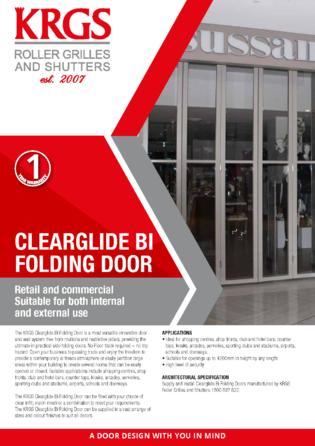 Clearglide Brochure