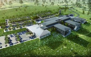 KRGS Doors to Deliver New Integrated Hospital to The Bega Valley