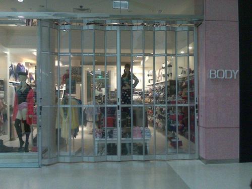 ... Folding Closure 218 ... & Folding Doors - Folding Security Shutters for Retail Shop Fronts ...