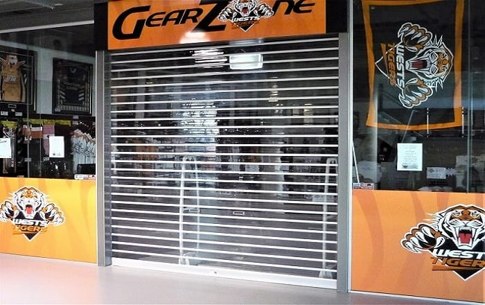 Clear Vision Roller Shutter