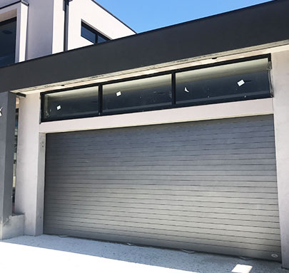 Aluminium Garage Doors inner