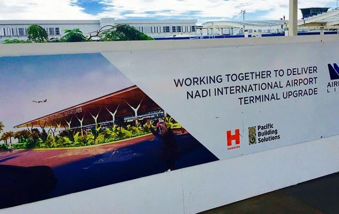 BULA KRGS Arrives at Fijian International Airport main