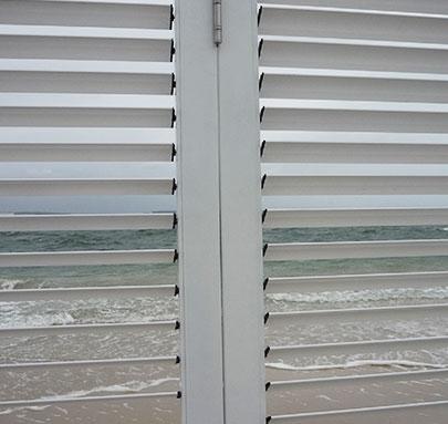Clearbreeze Bi Folding Doors inner