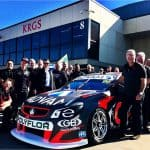 Erebus Motorsports drop in to KRGS' Head Office img 2