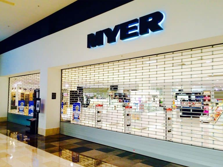 Myer Store at Liverpool 19 mm Grilles main