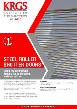 Steel Roller Shutter Brochure