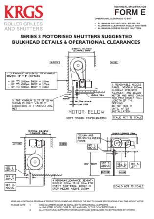Technical Specs E