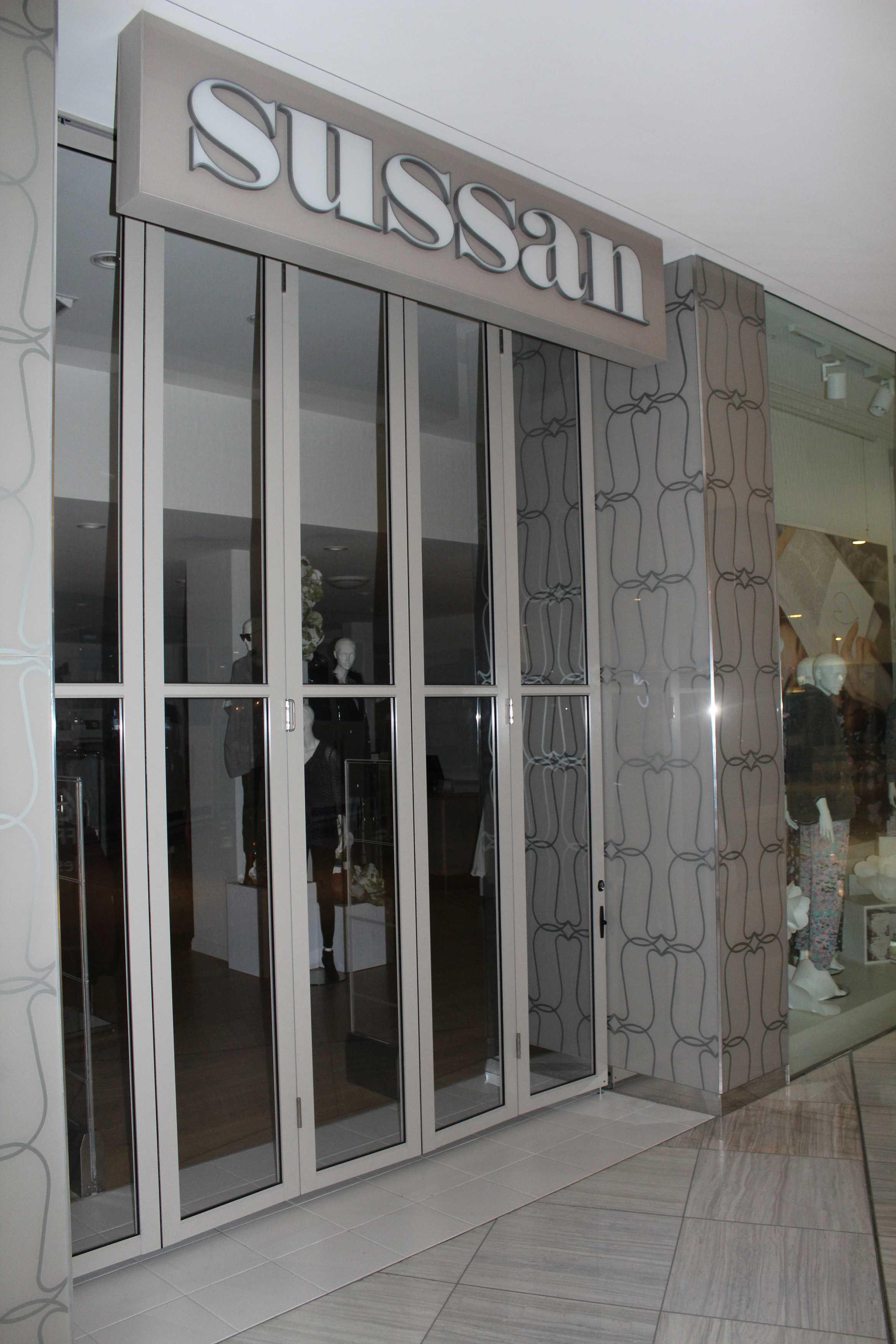 Storefront Windows And Doors clearglide bi-folding door - krgsdoors