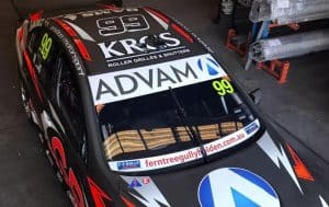 Erebus Motorsports drop in to KRGS' Head Office