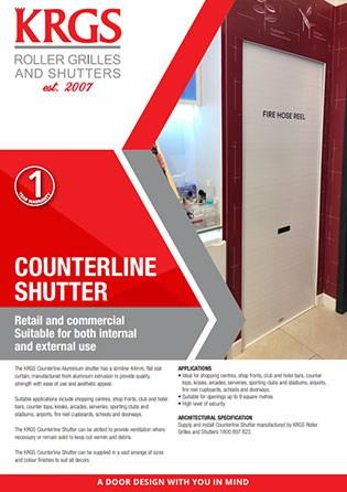 Counterline Aluminium Shutter Brochure