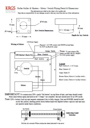 KRGS Wiring Diagram