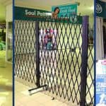 Security Mobile Trellis Barrier