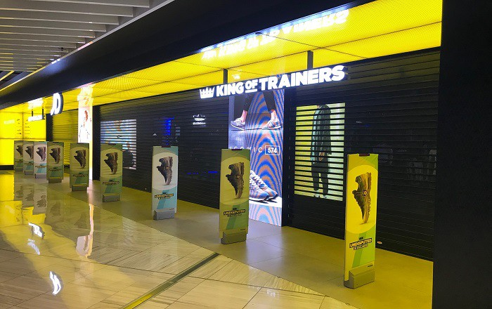 King Of Trainers Roller Shutter