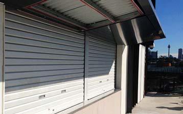 Commercial Roller Shutter Doors