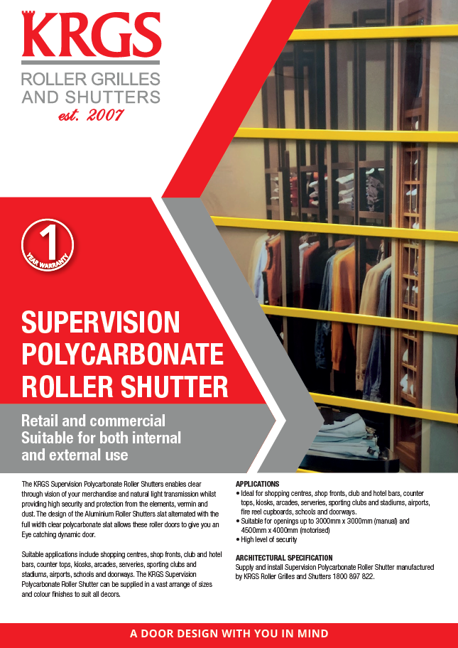 Supervision Brochure